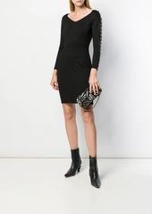 Just Cavalli ring embellished dress