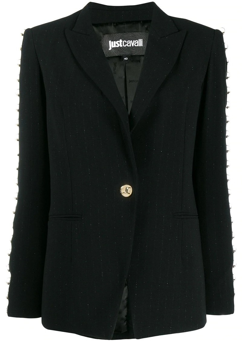 Just Cavalli ringed trim blazer