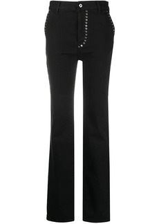Just Cavalli riveted bootcut jeans