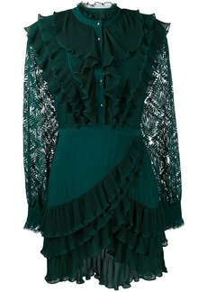 Just Cavalli ruffle lace dress
