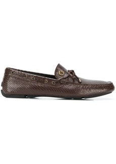 Just Cavalli scale-effect loafers