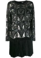 Just Cavalli sequin embellished dress