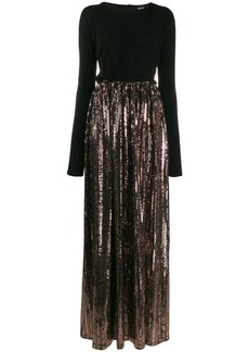 Just Cavalli sequin skirt gown