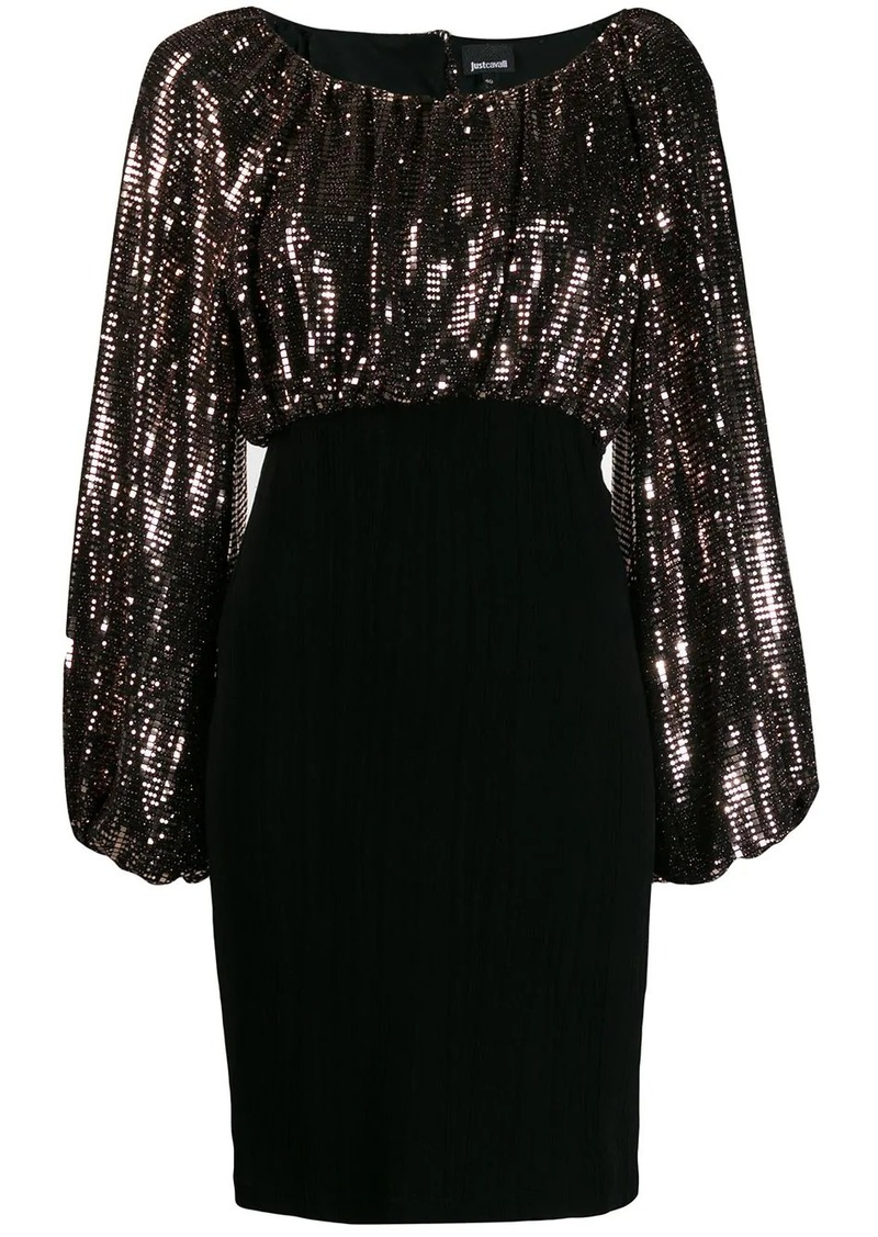 Just Cavalli sequin top dress