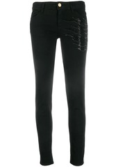 Just Cavalli sequinned skinny jeans