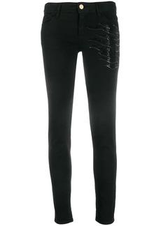 Just Cavalli sequinned skinny jeans