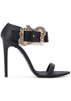 Just Cavalli side buckle heeled sandal