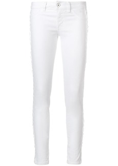 Just Cavalli side lace detail jeans