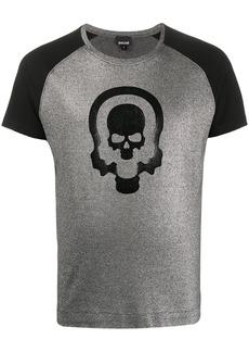 Just Cavalli skull print crew neck T-shirt