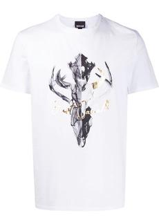 Just Cavalli skull-print T-shirt
