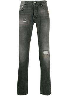 Just Cavalli slim-fit distressed effect jeans