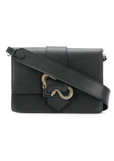 Just Cavalli snake buckle shoulder bag