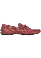 Just Cavalli snake effect loafers