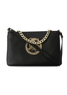 Just Cavalli snake plaque tote bag