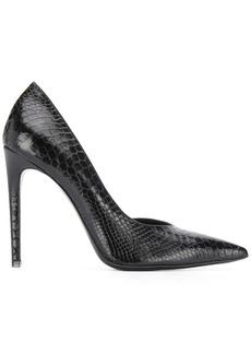 Just Cavalli snakeskin effect stiletto pumps
