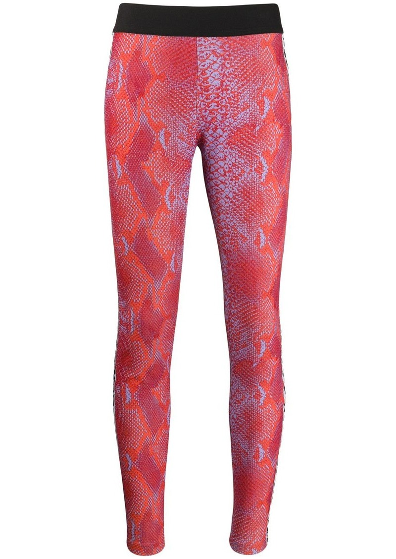 Just Cavalli snakeskin print leggings