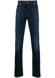 Just Cavalli stonewashed straight-leg jeans