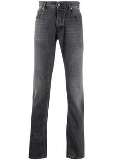 Just Cavalli straight-leg faded jeans