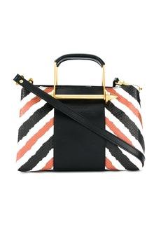 Just Cavalli striped tote bag