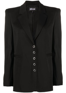 Just Cavalli structured shoulder blazer
