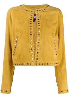 Just Cavalli stud detail jacket