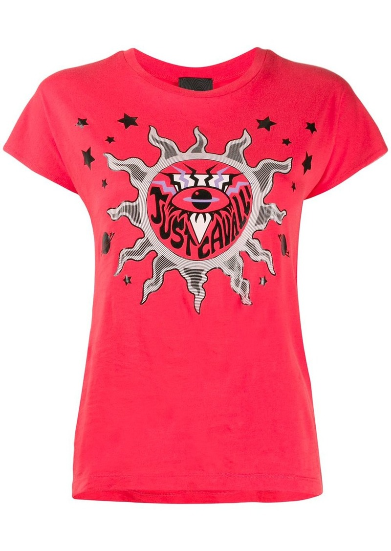 Just Cavalli Sun print T-shirt
