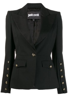 Just Cavalli tailored buttoned blazer