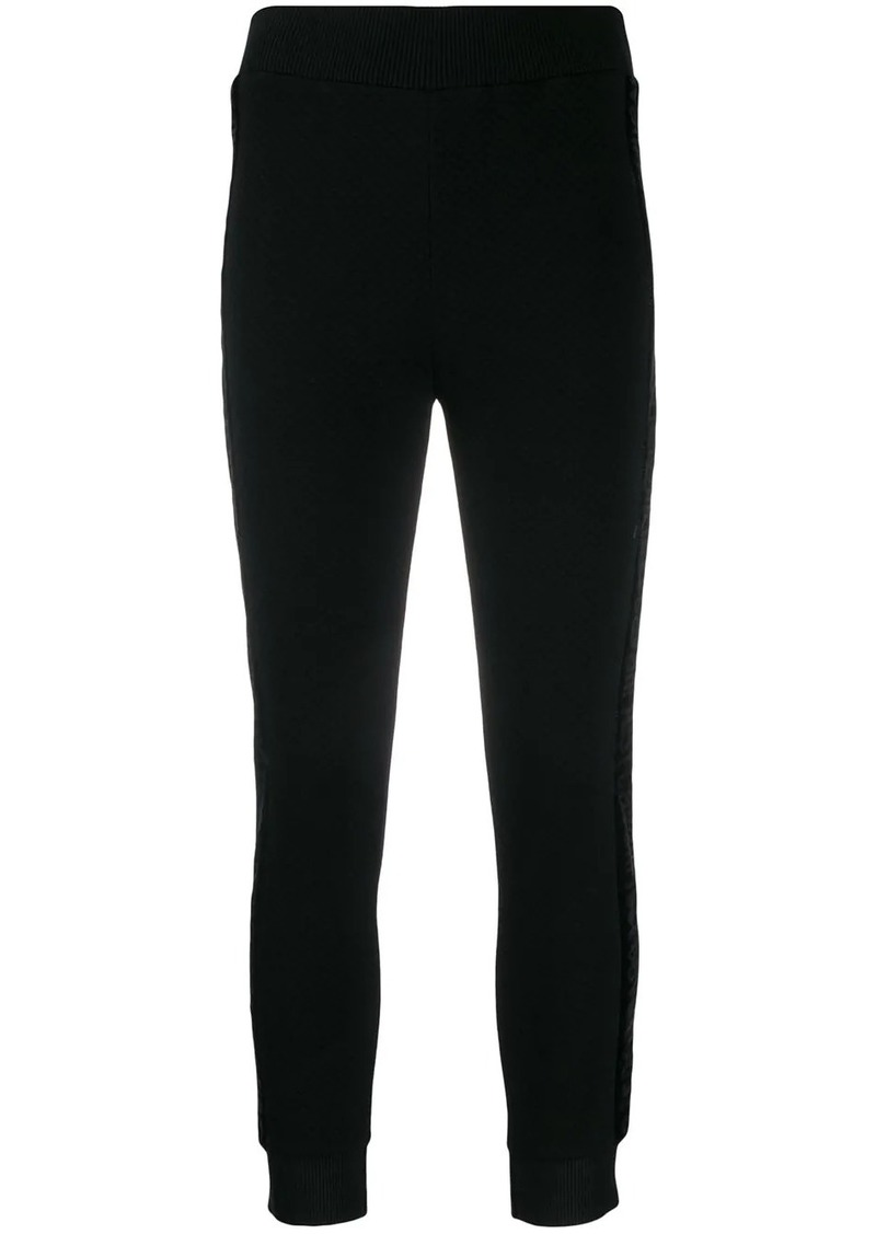 Just Cavalli textured skinny trousers