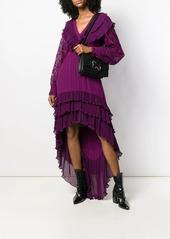 Just Cavalli tiered ruffle dress