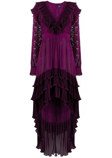 Just Cavalli tiered ruffle dress