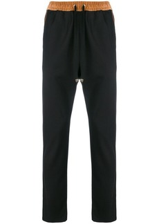 Just Cavalli two-tone track pants