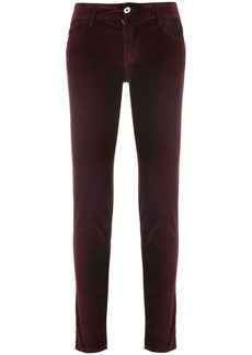 Just Cavalli velour skinny jeans