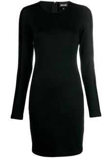 Just Cavalli velvet trim dress