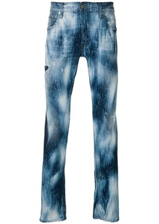 Just Cavalli washed effect jeans