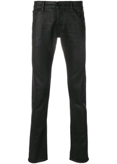Just Cavalli wax effect jeans