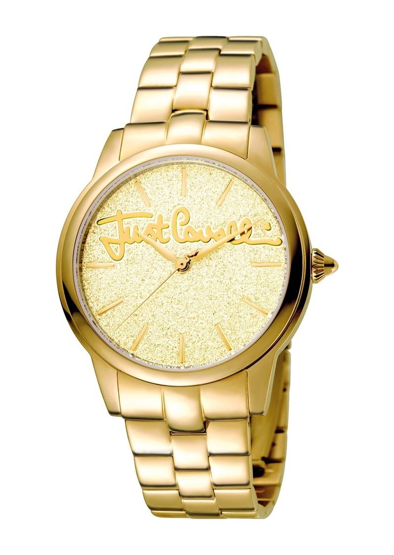 Just Cavalli Women's Glam Chic Mohair Bracelet Watch, 36mm