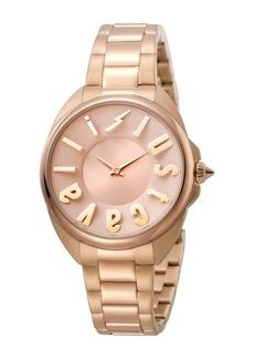 Just Cavalli Women's Logo Quartz Bracelet Watch, 34mm