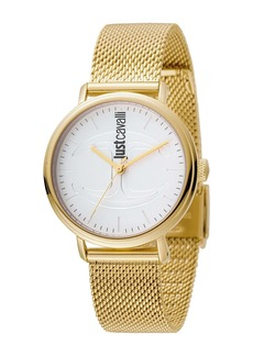 Just Cavalli Women's Stainless Steel Bracelet Watch, 34mm