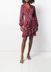 Just Cavalli zebra print scarf dress