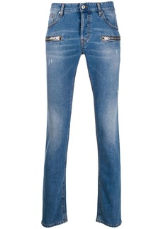Just Cavalli zip-detail skinny jeans