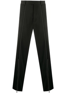 Just Cavalli zip detail straight trousers