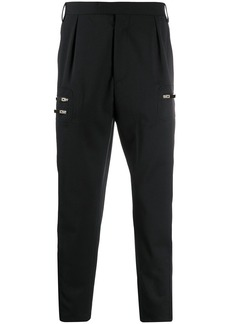 Just Cavalli zip detail trousers