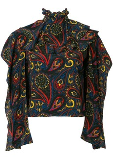 JW Anderson abstract print blouse