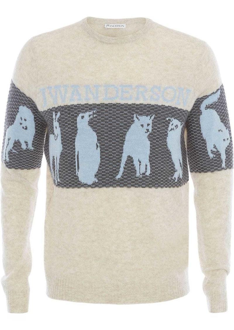 JW Anderson animal jacquard sweater