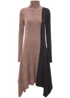 JW Anderson asymmetric contrast dress