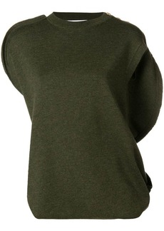 JW Anderson asymmetric knitted top