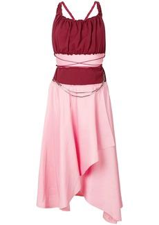 JW Anderson asymmetric midi dress