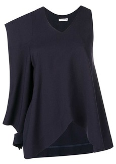 JW Anderson asymmetric patch pocket blouse