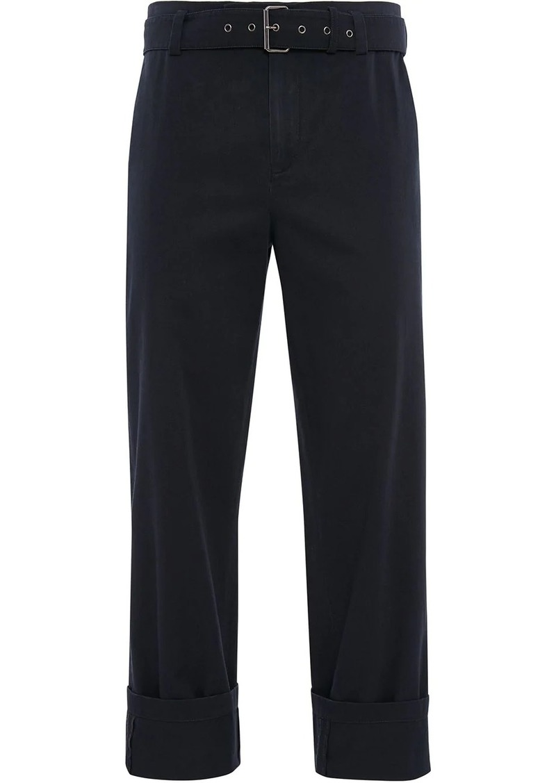 JW Anderson belted chino trousers