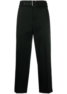 JW Anderson belted straight-leg trousers